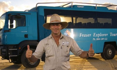 Fraser Island day tour from Hervey Bay